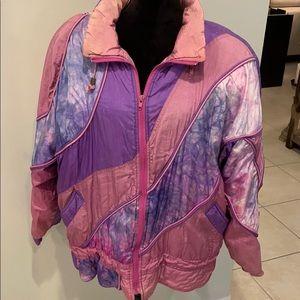 Vintage Braetan 80s Tie Dye Puffer Jacket
